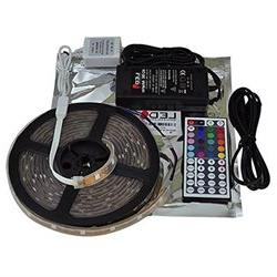 LEDwholesalers RGB Color Changing Kit with 44-Button Control