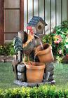 ROOSTER WATER FOUNTAIN GARDEN YARD DECOR NEW~10017065