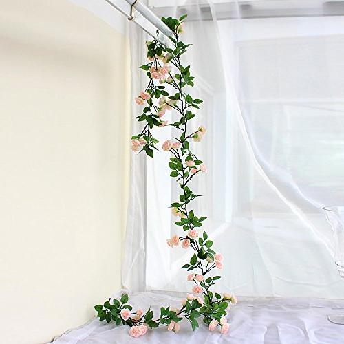 rose garland artificial vine