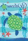 SEA TURTLE WELCOME Wildlife Conservation 2 Sided Custom Deco
