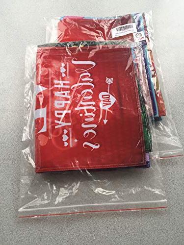 Myroh Seasonal Set Outdoor Décor, Top Assortment Holiday Pack, 12.5 X Double USA, Best Durable