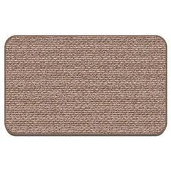 Skid-resistant Carpet Area Rug Floor Mat - Praline Brown - 2