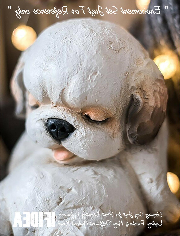 Sleeping Bear Garden Statue Design