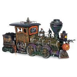 Snow Village Halloween Haunted Rails Engine - Department 56
