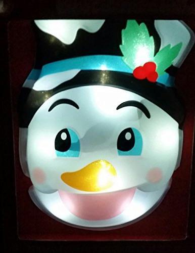 snowman christmas hanging animated greeter
