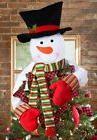 Snowman Decoration Christmas Tree Topper Holiday Decor Xmas