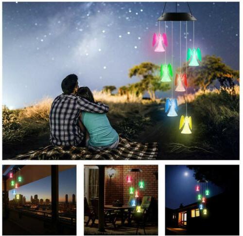 Angel Garden Yard Lamp