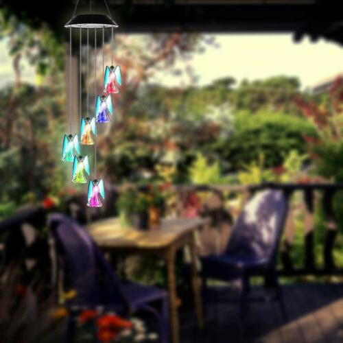 Solar Color Changing Angel Wind Lamp US