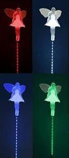 Solar Fairy Motion LED Lights, Angel Garden Stake Outdoor Ya