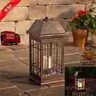 Outdoor Solar Lantern Hanging Light Led Garden Lamp Yard Pat