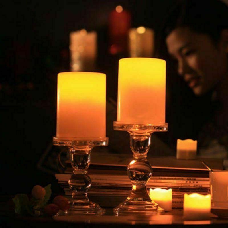 Solar LED Flickering Home Lamp