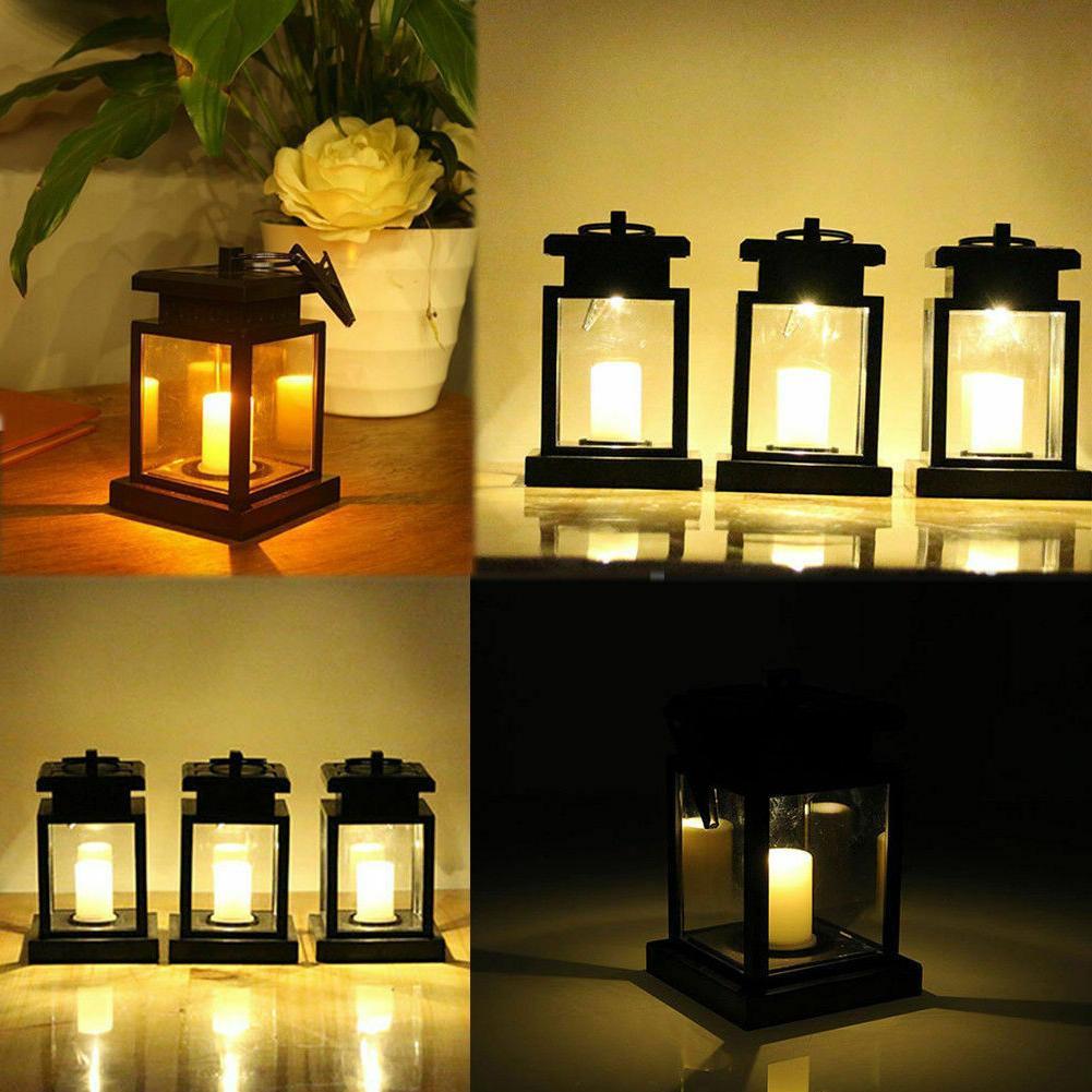 Solar LED Candle Flickering Lamp Landscape