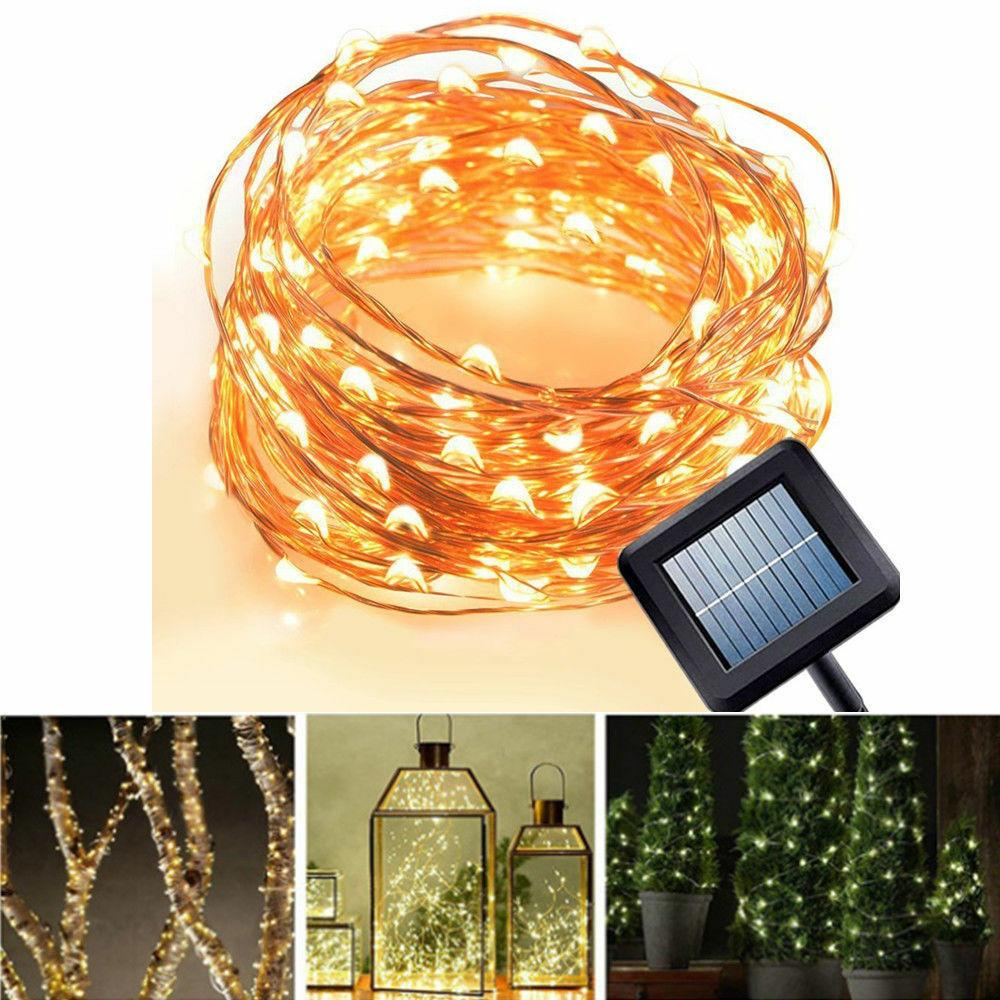 Solar Copper Waterproof Outdoor Fairy LED