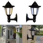 Solar Power LED Light Path Way Wall Landscape Mount Garden F