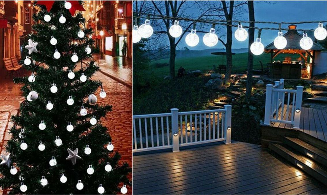 String Light Garden Yard Decor Waterproof