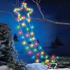 Solar Powered Color Changing LED Lights Shooting Christmas S