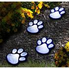 Solar Powered LED Garden Animal Paw String Light Outdoor Lam
