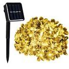 Solar Powered LED Garden Flowers String Light Outdoor Lamp Y