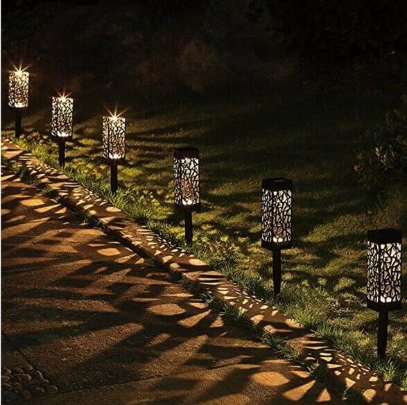 solar powered led garden lights automatic led