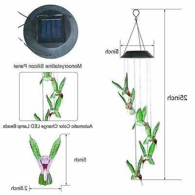 Solar Hanging LED Light Garden