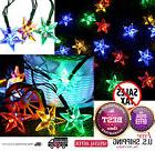 Outdoor Solar Powered Star String Lights 30 LED Fairy Bubble