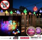 Outdoor Solar Powered String Lights 30 LED Fairy Bubble Gard