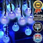 Solar Outdoor String Lights 30 LED Light for Party Wedding G
