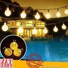 LED Solar String Lights Warm Crystal Balls Garden Patio Yard