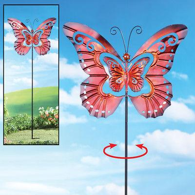 Spinning Butterfly Decor Yard Etc
