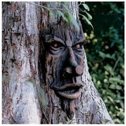 The Spirit of Nottingham Greenman Tree Statue, Statues, Peop