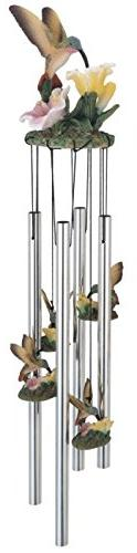 George S. Chen Imports SS-G-41275 Wind Chime Round Top Hummi