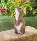 Standing Bunny Rabbit Statue Figurine Outdoor Garden Yard Ho