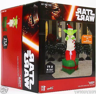 Star Wars 6 Feet Yoda Airblown Inflatable