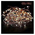 Starry String Lights Warm White Color LED's on a Flexible Co