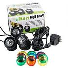 Jebao Submersible 3pcs 12-Led Pond Lights for Water Fountain