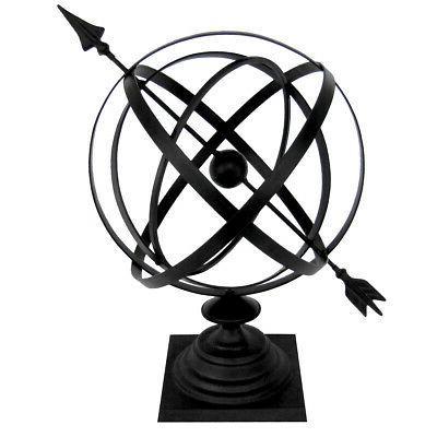 Sundial Cast Iron 24 Armillary Garden Arrow Sphere/Yard/Lawn