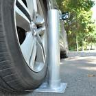 "2.4"" D. Metal Tire Mount Tailgate Wheel Stand Flag Pole Po"