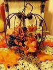Thanksgiving Turkey Pumpkin Harvest Fall Table Top Centerpie