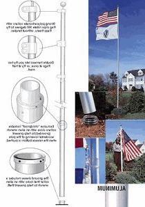 TopFlight Telescoping 20ft Flagpole -