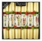 "6 x 12"" Traditional English Christmas Crackers - NEW - Glitt"