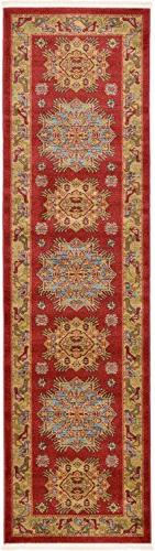 Beautiful Traditional Serapi Cllection Design, Red 2' 7 '' x