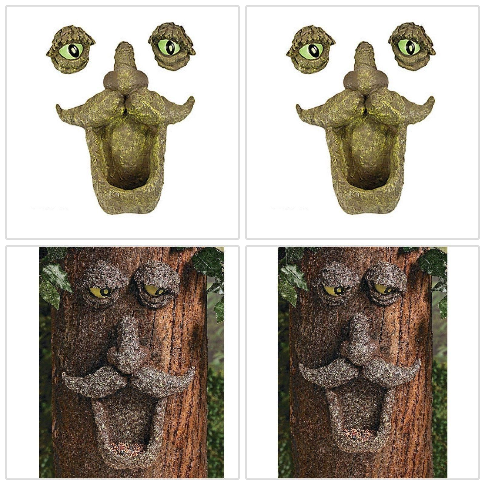 Fun Bird Feeder Decor Eyes in