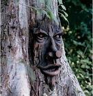 Tree Face Sculpture Art Decor Yard Garden Plaque Outdoor For