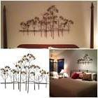 Tree Metal Wall Art Sculptures Home Decor Bedroom Hanging In