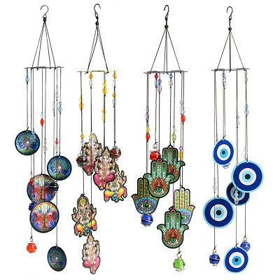 Tree Chime Metal Ornament Outdoor Home Decor