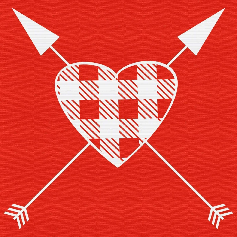 Valentine's Day Vertical Banner Porch Sign Flag