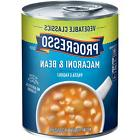 Progresso Vegetable Classics Soup, Macaroni and Bean, 19-Oun