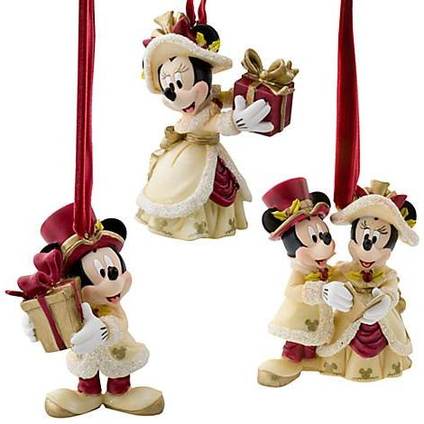 victorian minnie mickey mouse holiday