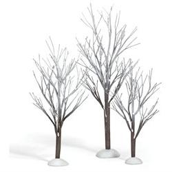 Department 56 Village Cross Product First Frost Trees