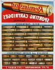 Vintage Replica Tin Metal Sign Remington Sporting Cartridges